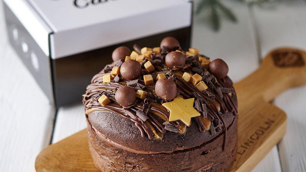 Festive Belgian Chocolate Cake (pre-order)