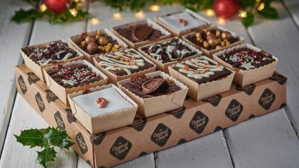 12 Festive Chocolate Cake Selection (pre-order)