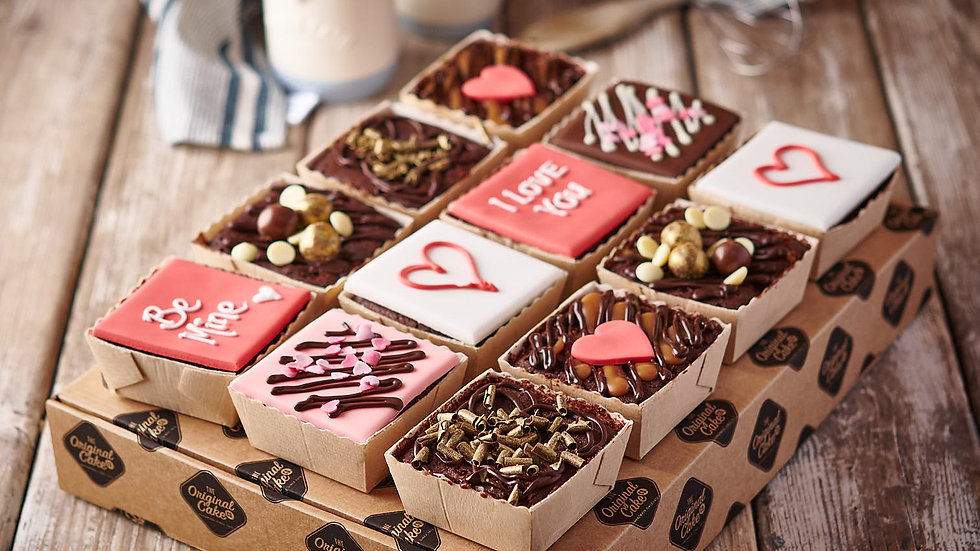 Valentines Chocolate Cake Selection