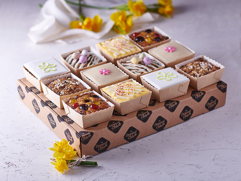 Luxury Light Fruit Spring Cake Selection
