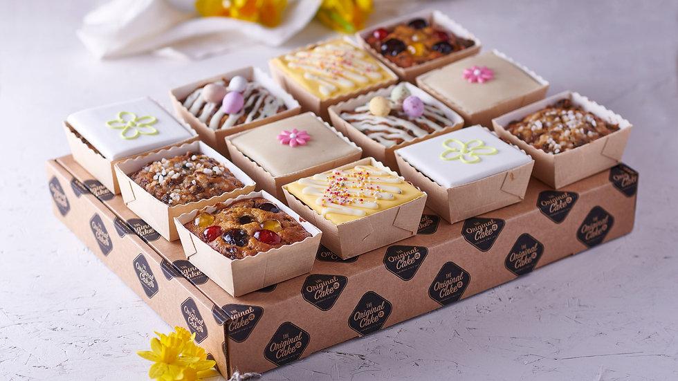 Luxury Light Fruit Cake Selection