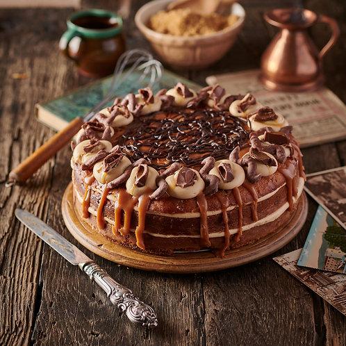 Sea Salted Caramel & Chocolate Drizzle Cake