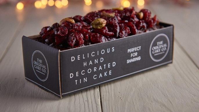 Christmas Cranberry and Pistachio Fruit Cake x8