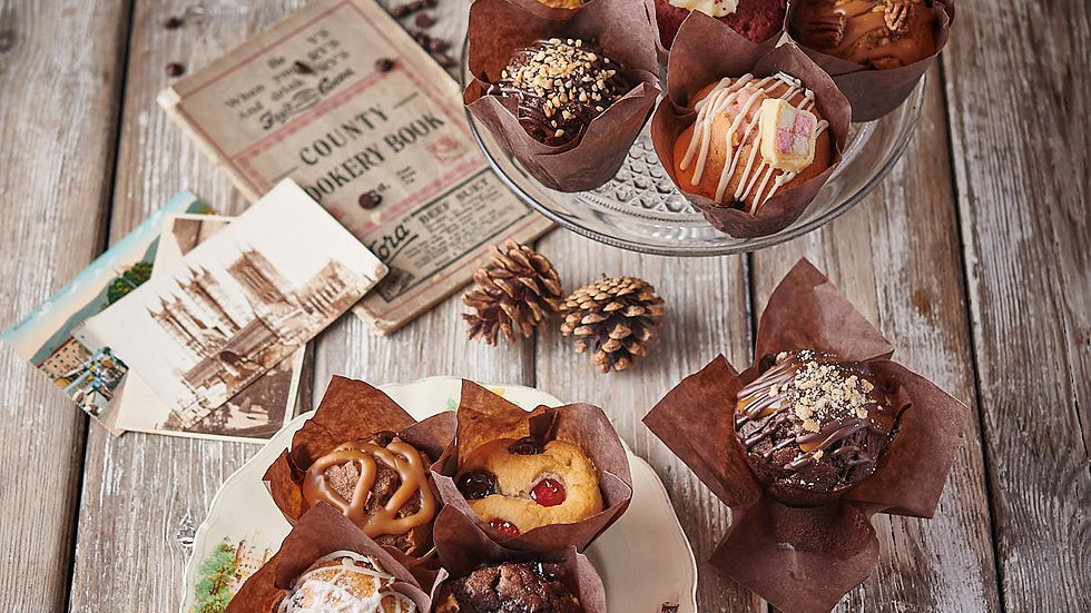 Posh Muffin Selection