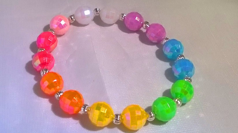 Elastic Rainbow Bracelet