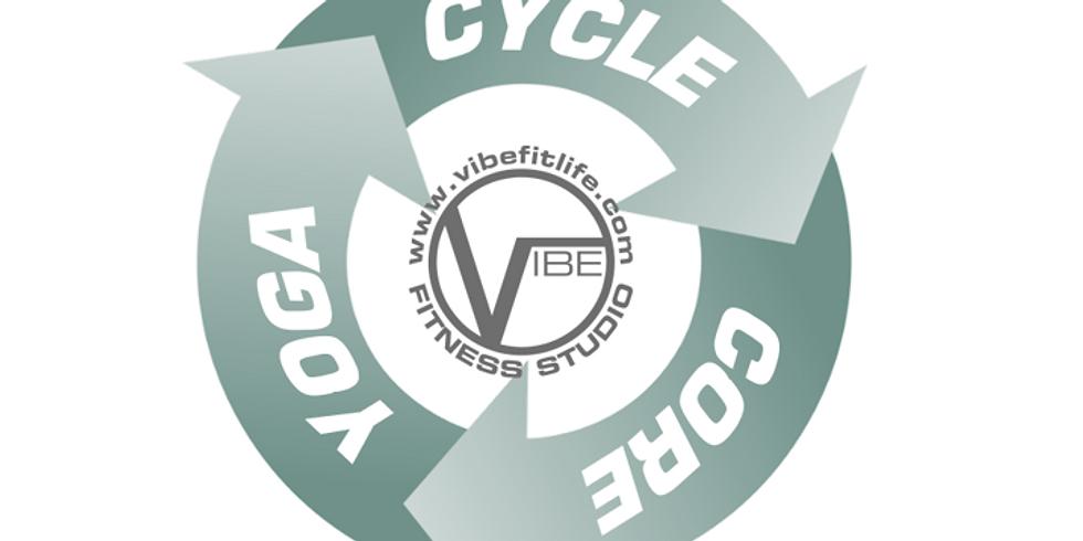 Cycle-Core-Yoga 4:30 PM