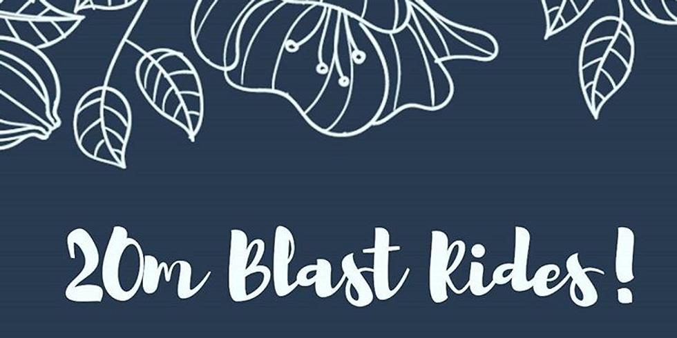 Blast Ride 5:00 PM (T3 Free; $9 drop-in)