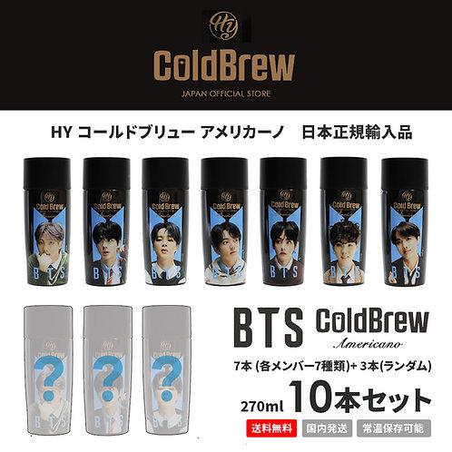BTS 防弾少年団 Cold Brew Americano コールドブリュー アメリカーノ 10本セット コーヒー 水出しコーヒー 日本正規輸入品 常温保管