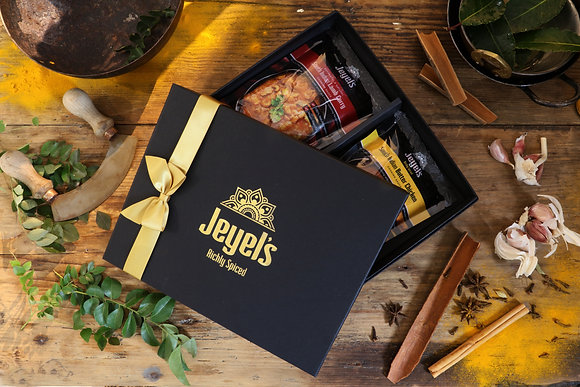 Cooking Sauce Gift Box and Raw Silk Bag