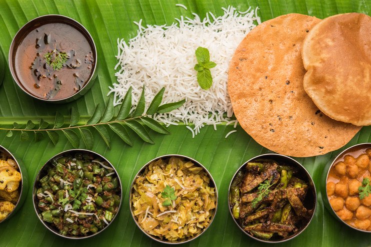 Traditional South Indian Meal or food se