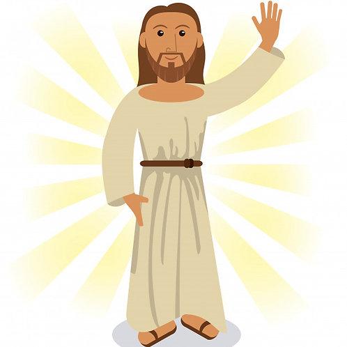 Chúa vẫy tay chào