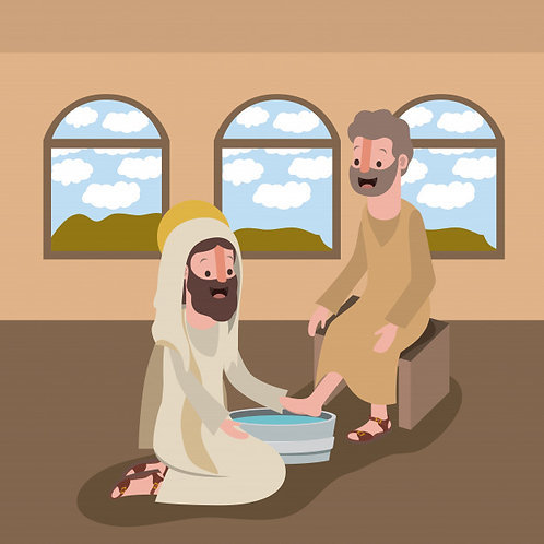 Chúa rửa chân