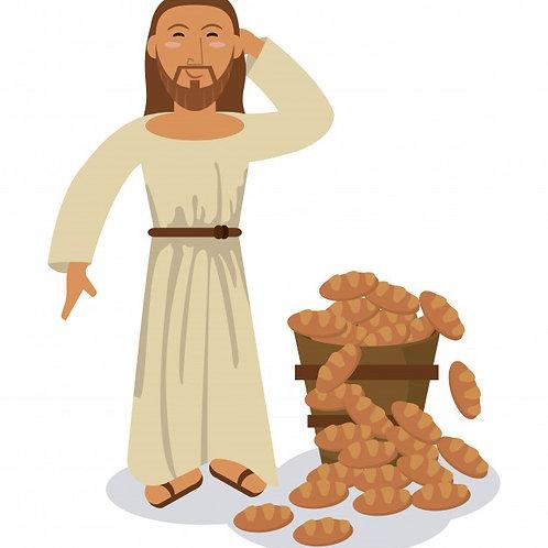 Chúa hóa bánh ra nhiều