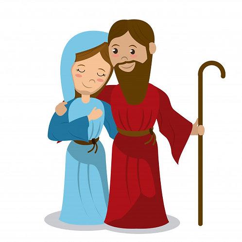 Mẹ Maria và Thánh Giuse