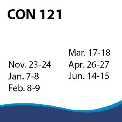 CON 121: Contract Planning