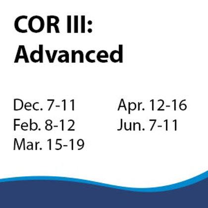 COR III: Advanced