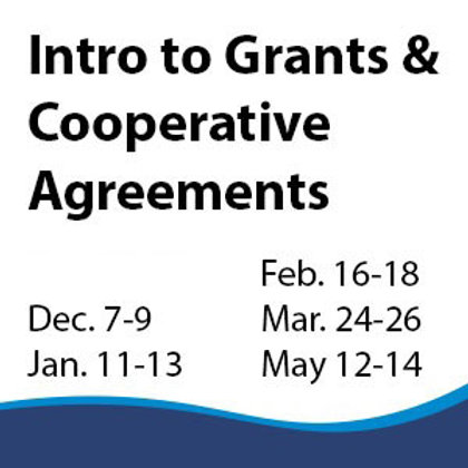Introduction to Grants and Cooperative Agreements
