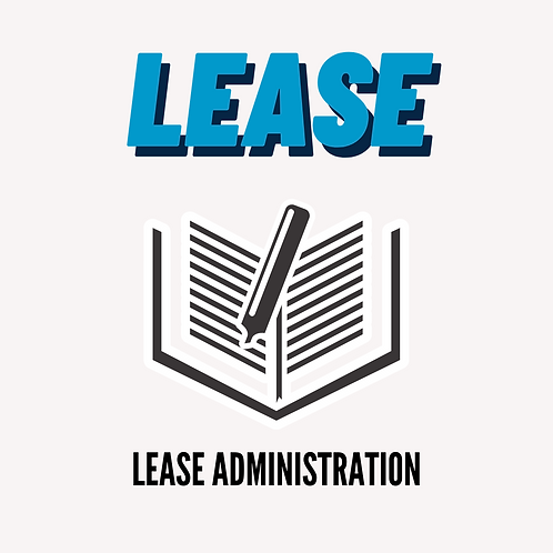 Lease Administration