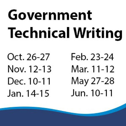 Government Technical Writing