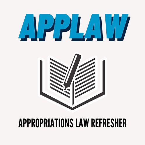 Appropriations Law Refresher