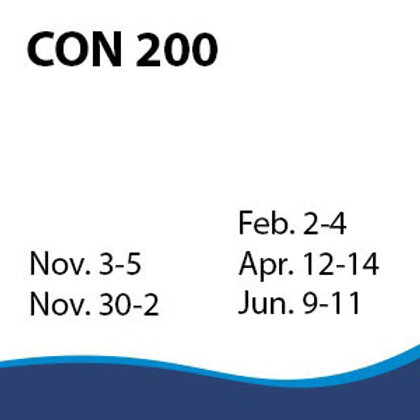CON 200: Business Decisions for Contracting