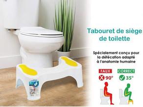 Constipation, Hémorroïdes : Pourquoi utiliser un tabouret de toilettes ?