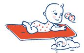 La plagiocéphalie n'est pas grave. Elle peut être facilement évitée et corrigée.