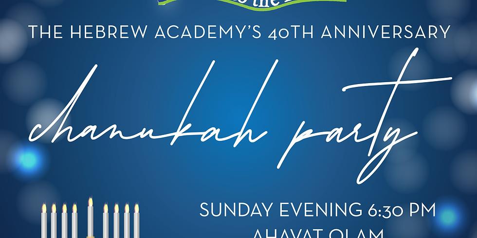 40th Anniversary Chanukah Party