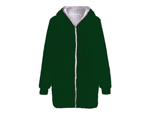 Forest Green Fleece - Size Large