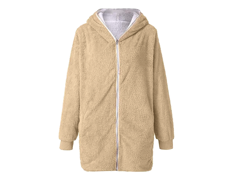 Tan Fleece - Size Small