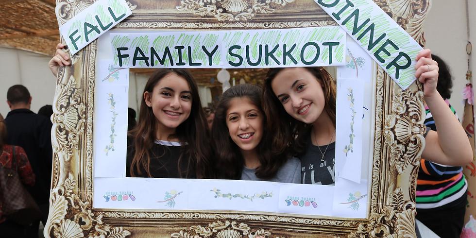 Annual Sukkot Fall Family Dinner