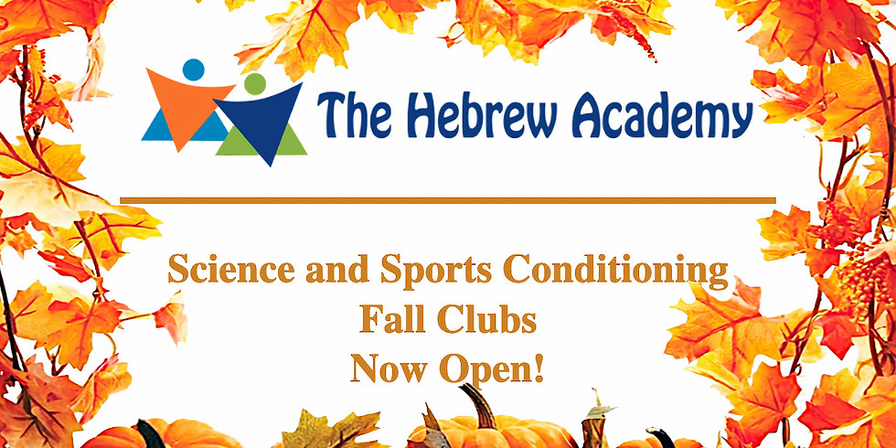 Science and Sports Conditioning Fall Clubs