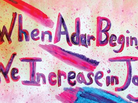 It's Adar...Be Happy!