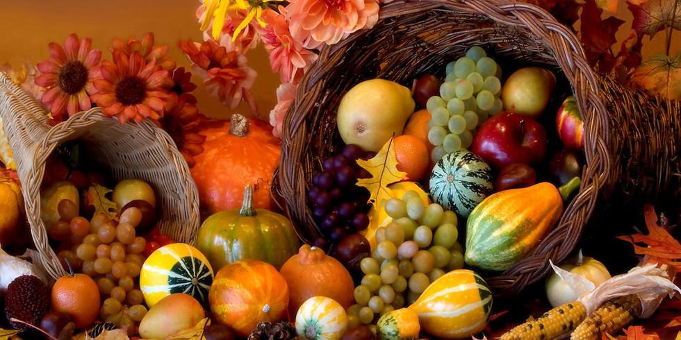 PJ Library Celebrates Thanksgiving