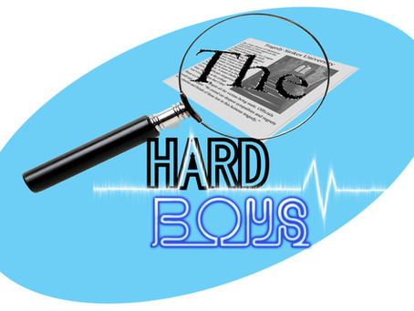 Book Trivia: The Hard Boys Logo!