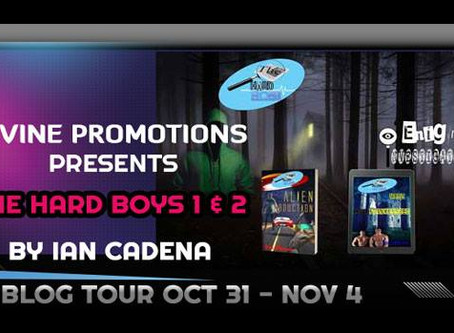 The Hard Boys Series Blog Tour         10/31--11/4