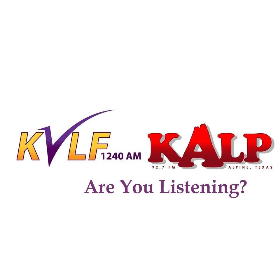 KVLF Alpine Radio Appearance