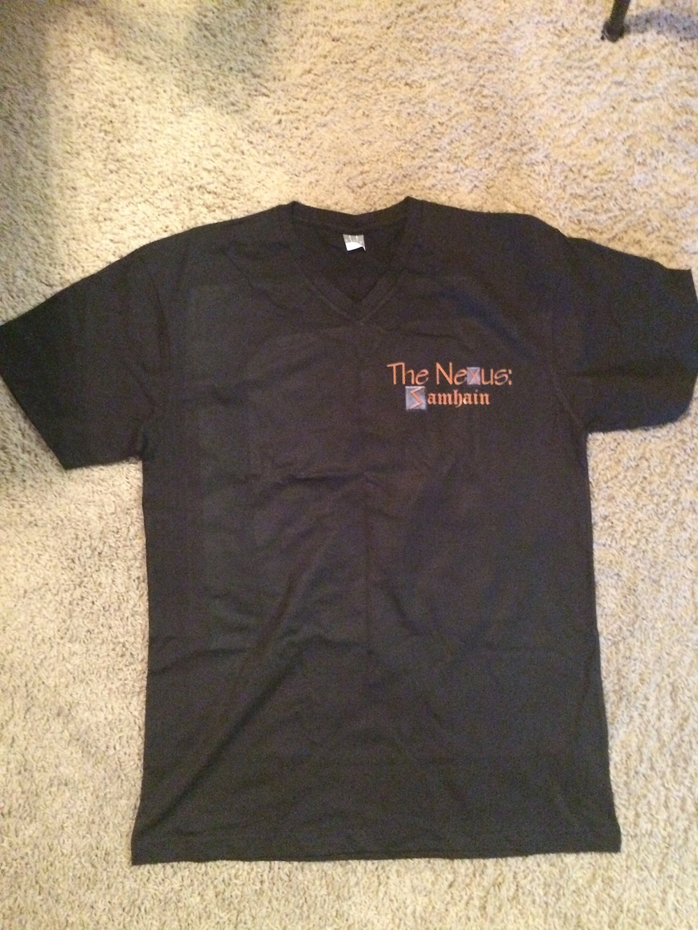Front of the T-shirt