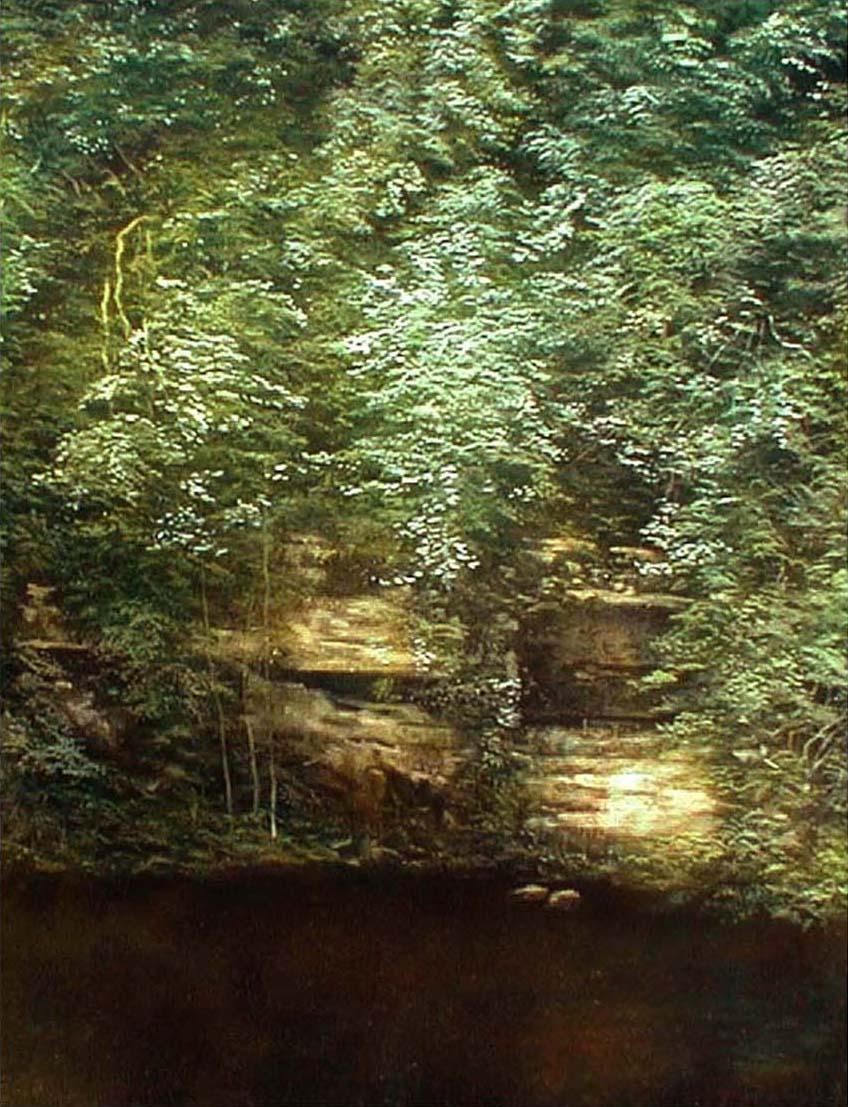 Gorge Rocks 3 100 cm x 120 cm