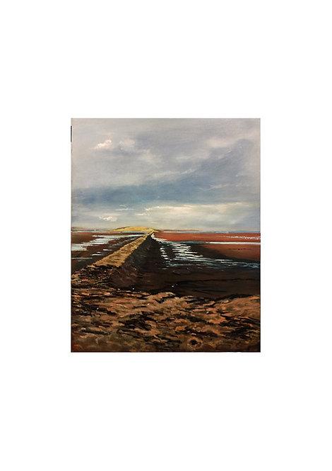 Grey Skys Cramond Sands