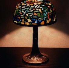 Almond lamp