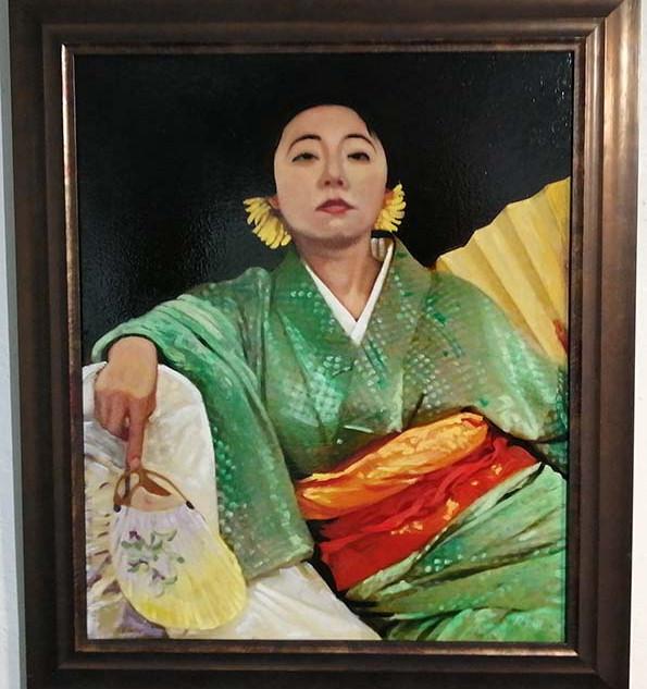 Komachi With Silk Kimono