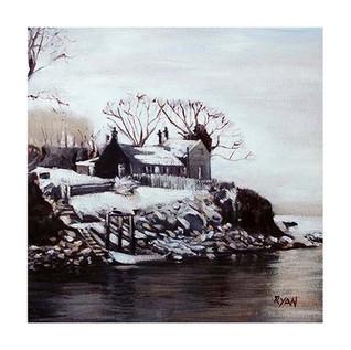 Winter Ferryboat