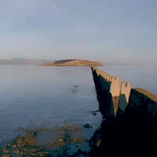 Cramond Island Summer Causeway