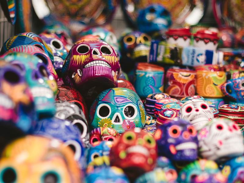 Custom Mexico Vacation | GeoLuxe Travel LLC | sugar skulls