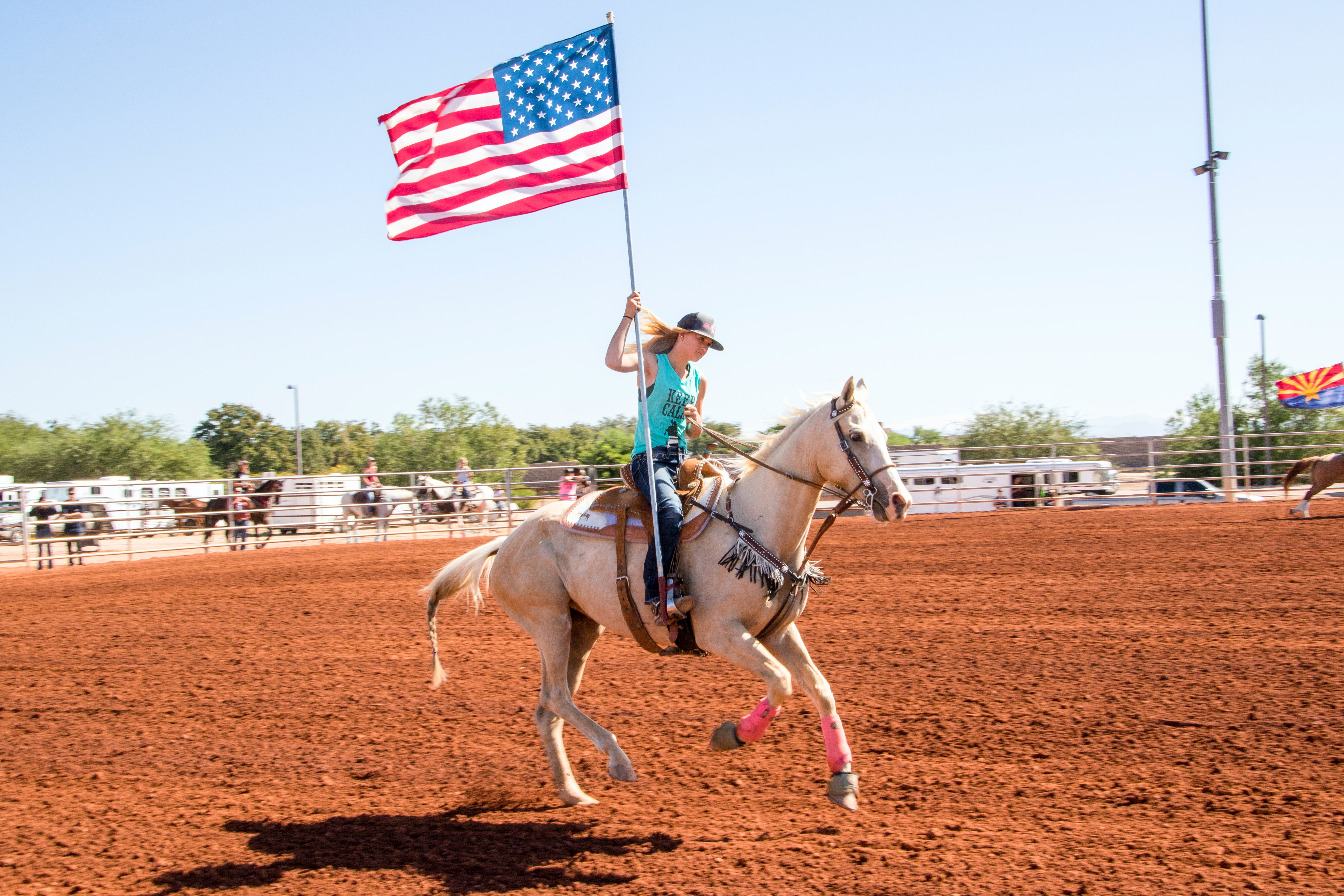 Take in a Texas rodeo