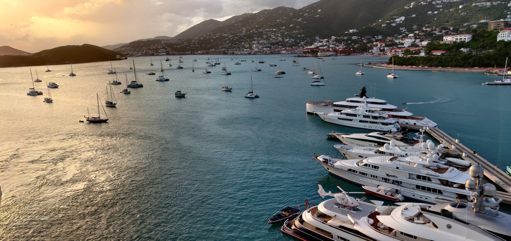 St. Thomas USVI harbor
