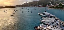 Custom Caribbean Vacation | GeoLuxe Travel |St. Thomas USVI harbor