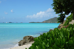 Custom Caribbean Vacation | GeoLuxe Travel LLC | ocean and mountain view