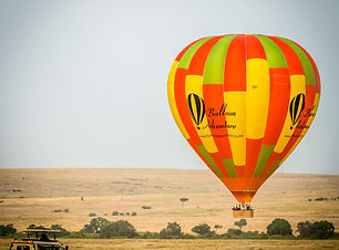 Custom Africa Vacation | GeoLuxe Travel | hot air balloon